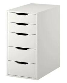 IKES ALEX white for office storage