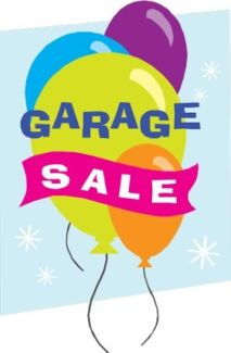 Garage sale- help us with our move!! 8am to 2pm 21 October
