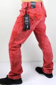 True religion red jeans 34x33.5-34