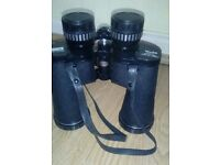Hunters binoculars with original case.