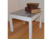 Blue & White Tiled Coffee Table