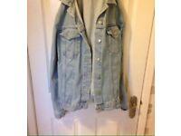Topshop denim jacket