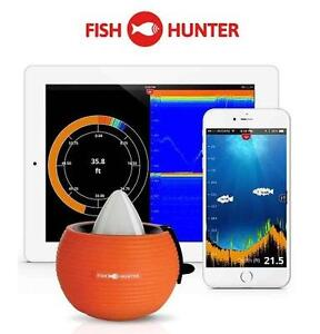 NEW FISHHUNTER PORTABLE FISH FINDER MILITARY GRADE PORTABLE FISH FINDER - SPORTS OUTDOORS FISHING 107667577