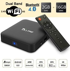 ANDROID TV BOX TX5 PRO 2G/16G DUAL-BAND WIFI BLUETOOTH 4.0 S905X