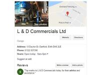 Vehicle parking HGV/general storage/ office/ containers renting section of yard also !!