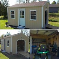 GARDEN SHEDS | LARGE & SMALL | SHEDS | STORAGE BUILDINGS