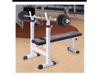 Bench press Bench & weights