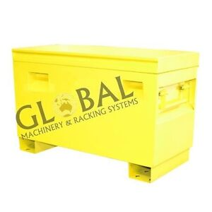 Toolbox NEW Heavy Duty Steel Job Site Tool Box 914mm Long Derrimut Brimbank Area Preview