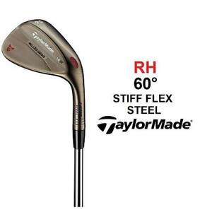 NEW TAYLORMADE 60° WEDGE RH N6340509 241482609 GOLF CLUB 10° BOUNCE RIGHT HAND MILLED GRIND BRONZE FINISH