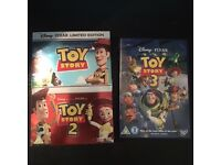 Disney Toy Story 1 2 & 3 Limited Edition Pop Up Cover DVD Box Set (OPEN TO OFFERS)