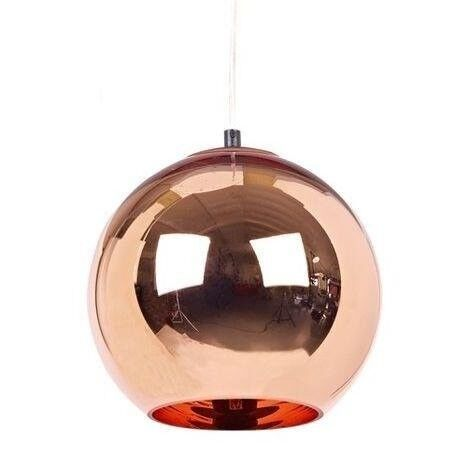 tom dixon style lighting. Tom Dixon Style Copper Glass Pendant Ceiling Lights Lamps 30cm - 2 Pair Available Lighting