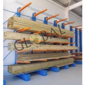 Cantilever racking Melbourne, timber storage racks, steel storage