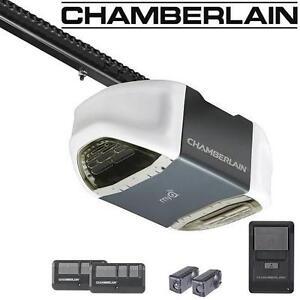 NEW CHAMBERLAIN GARAGE DOOR OPENER 1/2 HP MYQ CHAIN DRIVE 109130087
