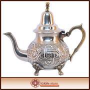 Marokkanische Teekanne