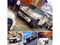 Hummer H2 Prom Hire