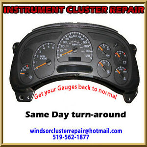 INSTRUMENT CLUSTER - GAUGE REPAIR 519-562-1877 Windsor Region Ontario image 1
