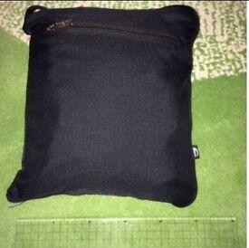 Lightweight foldaway compact black Holdall