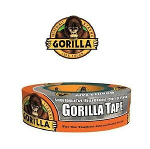 NEW GORILLA TAPE 35 YARD SILVER HOUSEHOLD RENO CRAFTS ADHESIVE 1.88INCH WIDTH 103006590