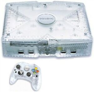 Microsoft Xbox Crystal Limited Edition Translucent Console