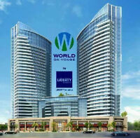 1 bedroom for Lease World on Yonge Luxury Condos