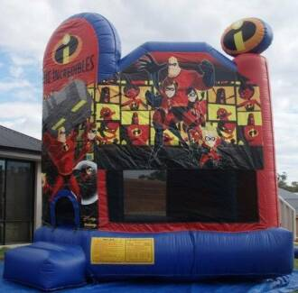 Incredibles Bouncy Castle Jumping Castle Hire Port Kennedy Rockingham Area Preview