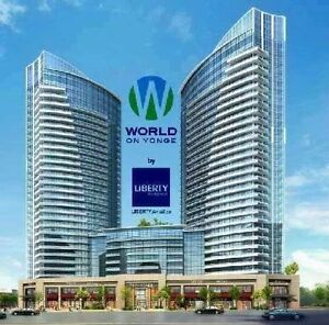 1+1 CONDO APARTMENT FOR LEASE, Yonge/Steeles $1650