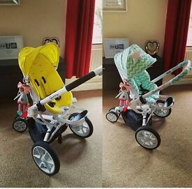 Excellent condition Quinny pram, rarely used