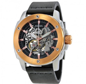 Skeleton Fossil Watch - Automatic