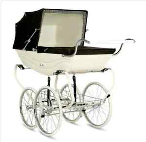 Pram Silver Cross Balmoral- Antique Heritage Collection Buderim Maroochydore Area Preview