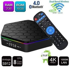 ANDROID TV BOX T95Z PLUS 2G/16G DUAL-BAND WIFI BLUETOOTH 4 S912