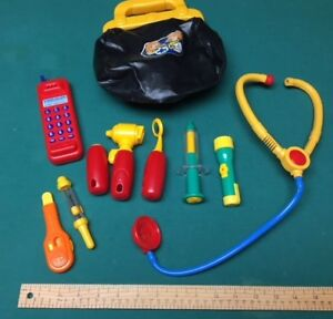 toys - medical bag & accessories to play doctor/nurse