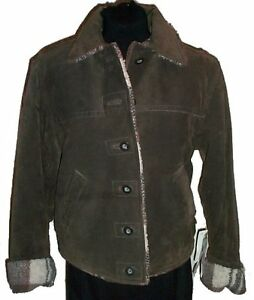 Brown Suede Leather Jacket - NEW with TAGS Gatineau Ottawa / Gatineau Area image 1