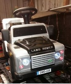 Sit & Ride Electric Land Rover