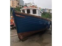 Wooden Passenger, Trip, Charter, Fishing Boat