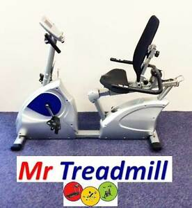 GLR4 Recumbent Bike | WARRANTY INCLUDED | Mr Treadmill Geebung Brisbane North East Preview