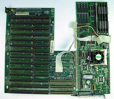 Triems Research Lab Single Board Computer Sbc 200206 With 200205 Backplane