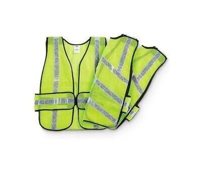 ZUJA Reflective Vest Easy Carry On High-Viz Safety Vest 8039