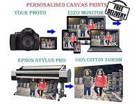 Personalised Canvas Prints, wallpaper, Fridge stickers, Photo printing service