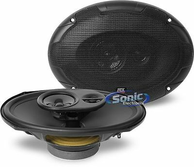 "MTX 360 Watt 6 x 9"" Terminator 3-Way Coaxial Car Stereo Speakers 