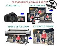 Personalised Canvas Prints, wallpaper, Fridge stickers, Photo printing service