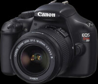 CANON EOS REBEL T3 12.2 MP CMOS DIGITAL SLR WITH 18-55MM IS III