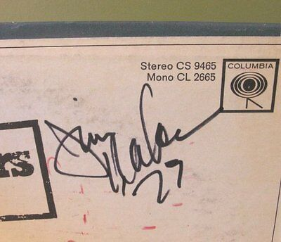 Jim Nabors  By Request  Lp Orig Vintage Autograph Signed Autographed