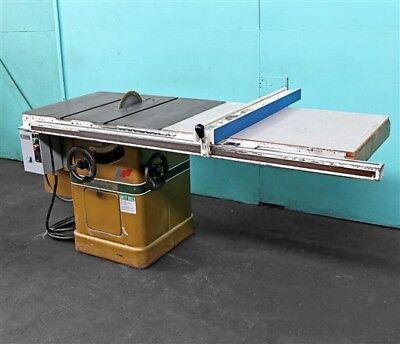 Powermatic 10 Tilting Arbor Table Saw Model 66