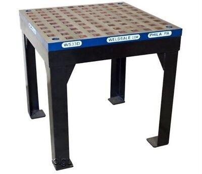 Weldsale 3 X 3 Lite Duty Platen Welding Table With Stand Wsc-33d