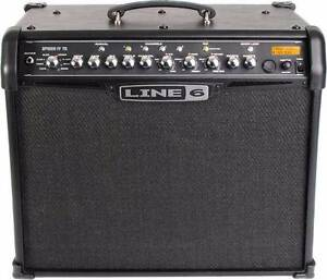 line 6 spider 1v 75w guitar amp with footswitch Goolwa Alexandrina Area Preview