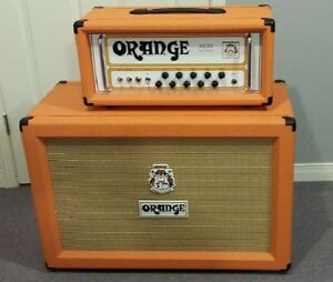 Orange AD-30HTC head and PPC212 Speaker Cabinet +footswitch