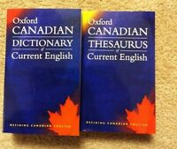 OXFORD CANADIAN DICTIONARY AND THESAURUS