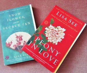 """""""SNOWFLOWER and the SECRET FAN"""" &""""PEONY IN LOVE"""""""
