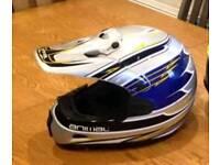 Small motocross helmet