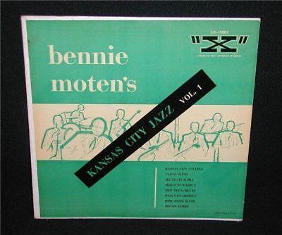 Bennie Motens Kansas City Jazz Vol 1  10  Vinyl Lp X Records Lx 3004 Vg